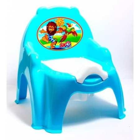Львенок - детский горшок-стульчик со съемным сидением