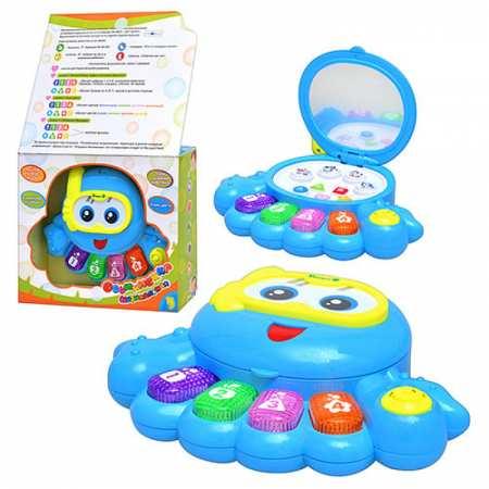 Умный Осьминожек - развивающая музыкальная игрушка с дисплеем
