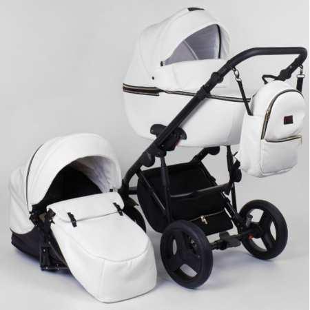 Roxy - стильная коляска 2 в 1 с эко-кожи