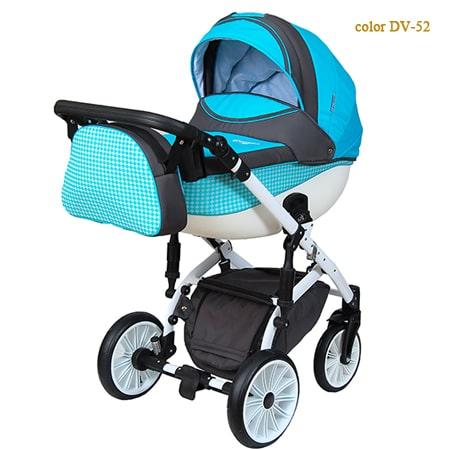 Детская коляска 2в1 - Discovery Voyager - новинка модельного ряда с обновленной рамой и более мягкой подвеской