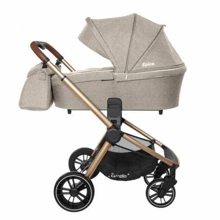 Стильная и легкая детская коляска 2в1 - CARRELLO Epica