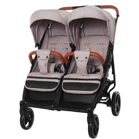 CARRELLO Connect CRL-5502 - прогулочная коляска для двойни или детей погодок