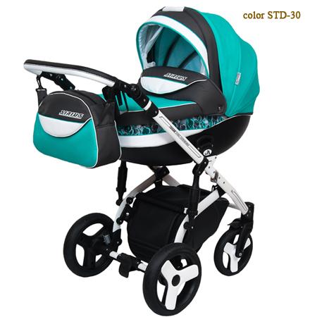 Детская коляска Sirius Turbo Drop - инновационная модель коляски 2 в 1 с фотопринтом