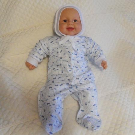Ярослав интерлок - набор одежды для новорожденного.