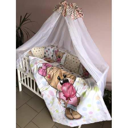 Набор постельного белья MyTeddy с бортиками-подушечками