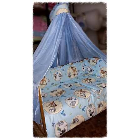 Бемби - набор постельного белья в кроватку с 8 предметов