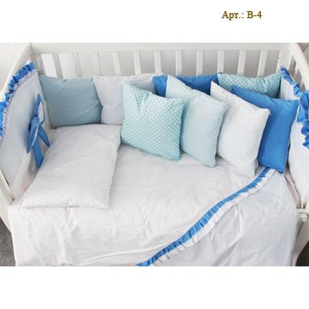 Сладкий сон - набор постельного белья с бортиками-подушечками