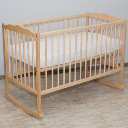 Детская кроватка Мечта из бука с качанием и тремя уровнями днища