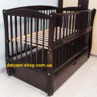 Детская кроватка Элит венге