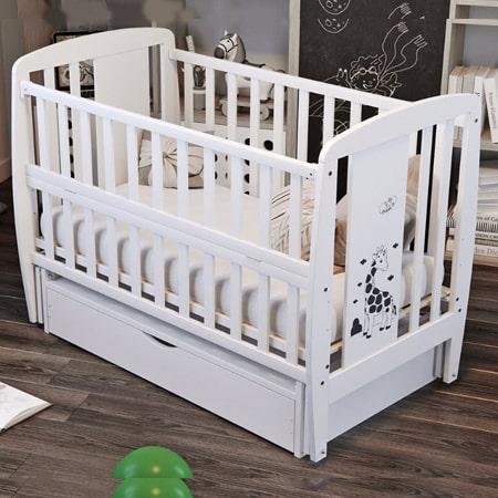 Детская кроватка Жираф