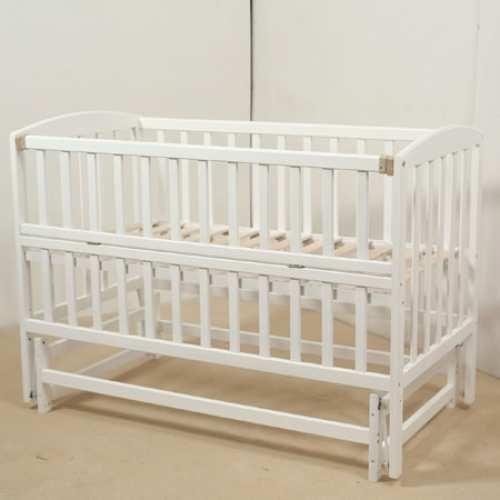Детская кроватка Гойдалка-3 белая