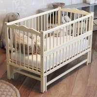 Детская кроватка Веселка - люкс слоновая кость