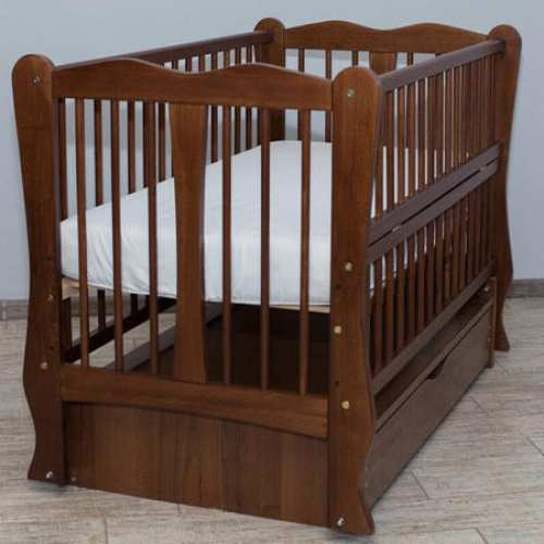 Детская кроватка Каролина орех