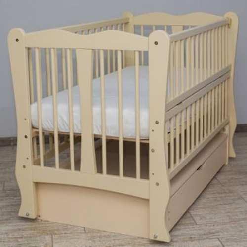 Детская кроватка Каролина слоновая кость