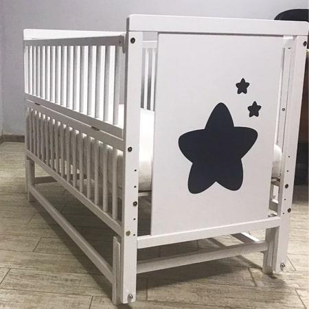 Детская кроватка Звездочка