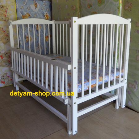 Детская кроватка Веселка - люкс белая