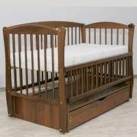 Детская кроватка Элит орех