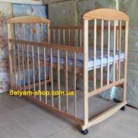 Детская кроватка Наталка ясень натуральный