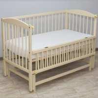 Детская кроватка - Веселка - люкс слоновая кость