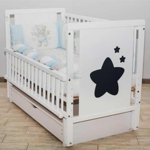 Детская кроватка Звездочка с ящиком