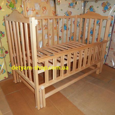 Карпаты-люкс детская кроватка на шарнирах