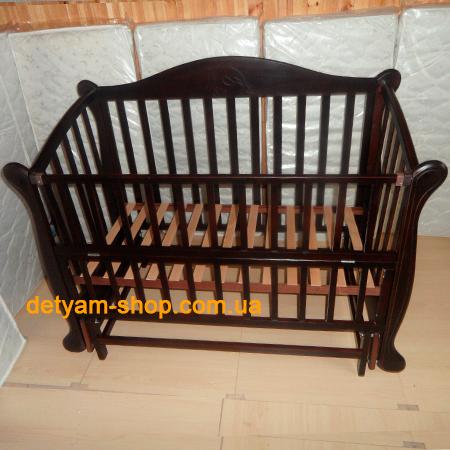 Детская кроватка- диванчик Дельфин венге