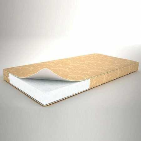 Холлофайбер - 6  - двухсторонний  ортопедический матрац, 120*60 см, толщиной 6 см