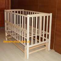 Детская кроватка Карпаты-люкс №2 без лака