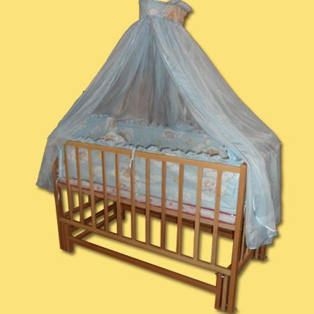 Карпаты детская кроватка на шарнирах