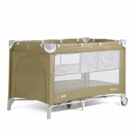 CARRELLO Piccolo Plus - манеж-кровать для сна и игр cо вторым дном