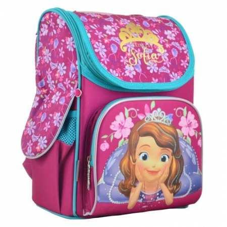 """Sofia rose - каркасный, легкий, ортопедический, школьный рюкзак известного бренда """"1 Вересня""""."""