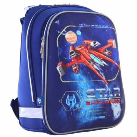"""Star Explorer - каркасный, легкий, ортопедический, школьный рюкзак известного украинского бренда """"1 Вересня"""""""