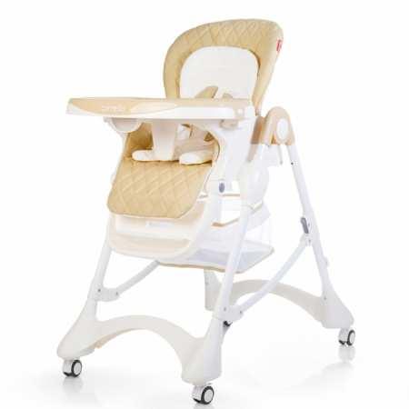 Стульчик для кормления CARRELLO - 9501 с регулировкой сидения и ремнями безопасности