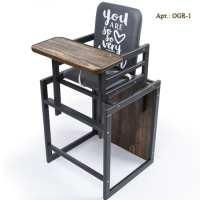 Graphite - деревянный стульчик-трансформер