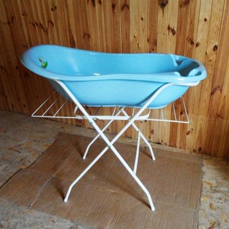 Подставка под ванночку с сушкой - TEGA - 102 см