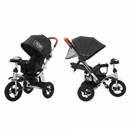 TILLY TRAVEL - велосипед-коляска с надувными колесами и наклоном спинки