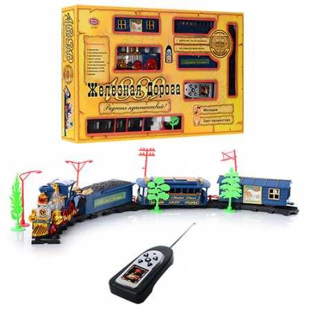 Joy Toy 0620 - железная дорога на р/у со звуковыми и световыми эффектами
