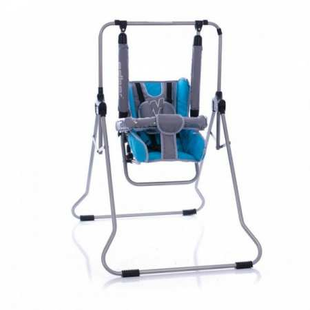 Радуга (Rainbow) - детская напольная кресло - качеля с положением лежа