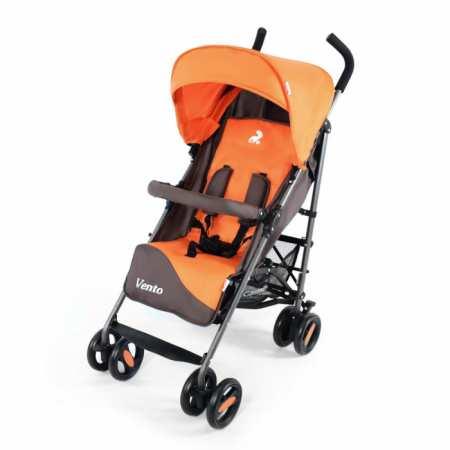 CARRELLO Vento CRL-1402 - коляска-трость с чехлом на ножки и большим капюшоном