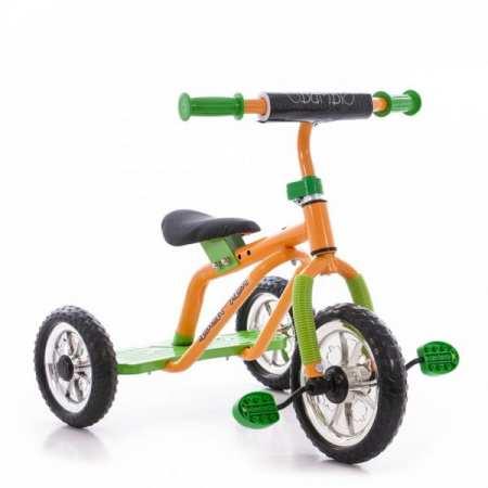 M 0688-1 - детский трехколесный велосипед с регулировкой сидения
