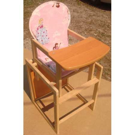 Корона - деревянный стульчик-трансформер для кормления