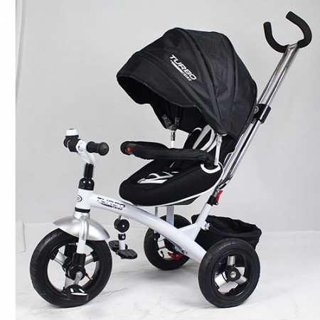 M 3195 - велосипед-коляска с надувными колесами и поворотным сидением