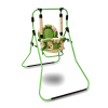 Классик Al-len  - детская напольная качеля с  мягким бампером и ремнем безопасности