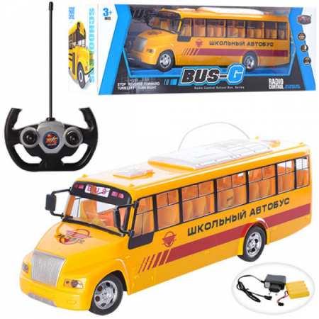 666-677A - музыкальный школьный автобус на радиоуправлении (32 см)