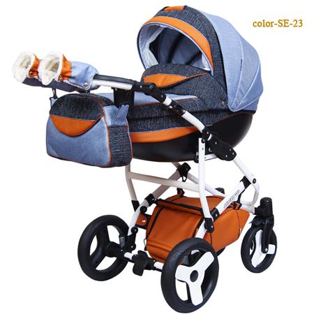 Sirius Eco - эксклюзивная многофункциональная детская коляска 2 в 1