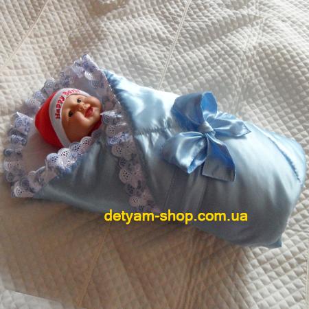 Атласный конверт-одеяло