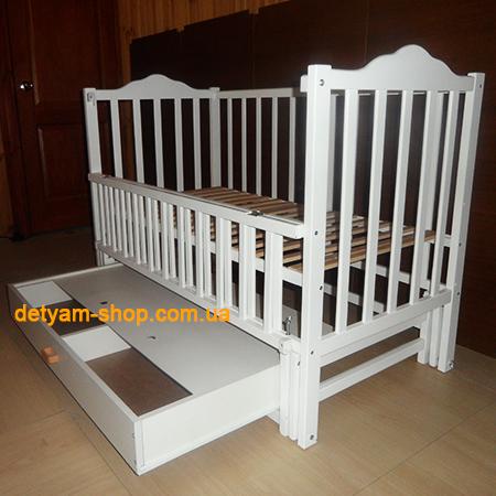 Карпаты-люкс белая с ящиком