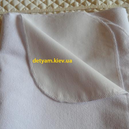 Непромокаемая махровая пеленка 90*65 см
