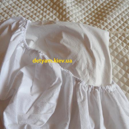 Непромокаемая махровая простынь-наматрасник на резинке 120*60