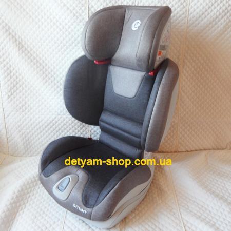 Smart-Lux - автокресло с наклоном спинки и регулировкой по ширине (15-36 кг)